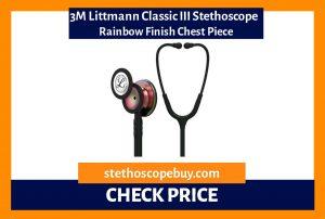 3M Littmann Classic III Stethoscope Rainbow Finish Chest Piece