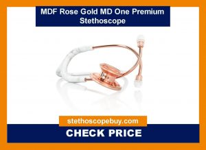 MDF Rose Gold MD One Premium Stethoscope