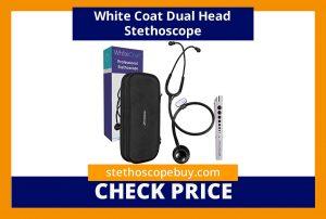 White Coat Dual Head Stethoscope