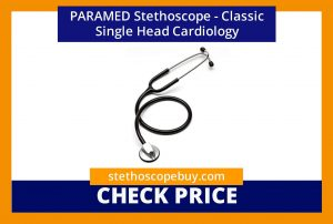 PARAMED Stethoscope Classic Single Head Cardiology